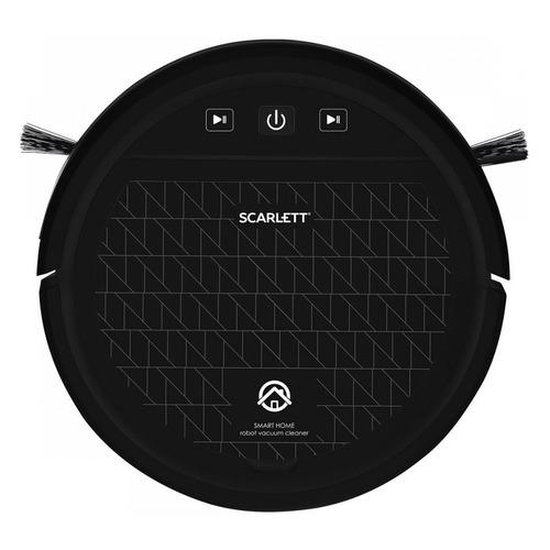 Робот-пылесос SCARLETT SC-VC80R12, черный