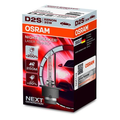 Лампа автомобильная ксеноновая Osram 66240XNL, D2S, 85В, 35Вт, 5000К, 1шт
