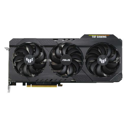 Видеокарта ASUS NVIDIA GeForce RTX 3060 , TUF-RTX3060-O12G-GAMING, 12ГБ, GDDR6, OC, Ret