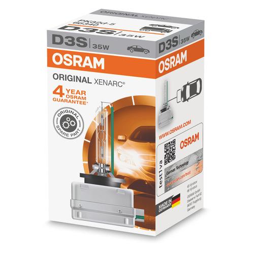 Лампа автомобильная ксеноновая OSRAM 66340, D3S, 42В, 35Вт, 4500К, 1шт