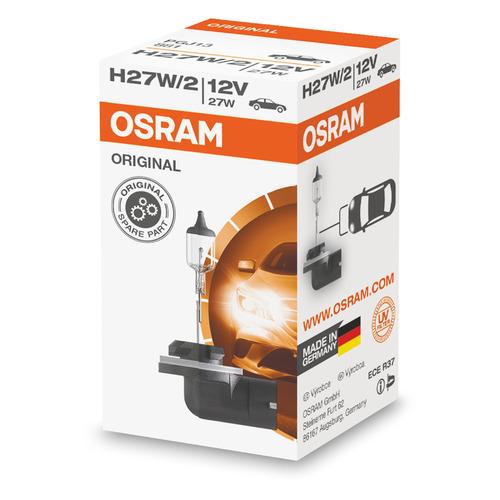 Лампа автомобильная галогенная OSRAM 881, H27W/2, 12В, 27Вт, 1шт