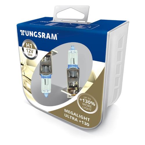 Лампа автомобильная галогенная TUNGSRAM 50310XNU PB2, H1, 12В, 55Вт, 2шт