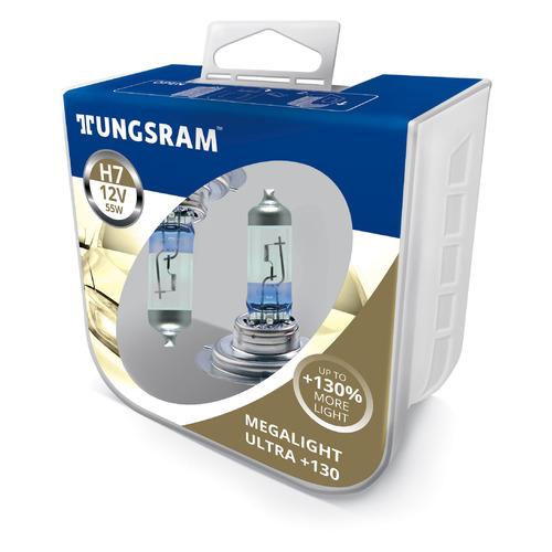 Лампа автомобильная галогенная TUNGSRAM 58520XNU PB2, H7, 12В, 55Вт, 2шт