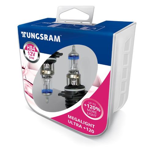 Лампа автомобильная галогенная TUNGSRAM 9006SNU PB2, HB4, 12В, 51Вт, 2шт