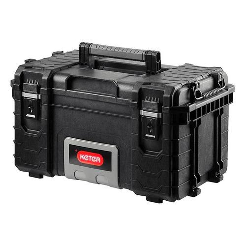 Фото - Ящик для инстр. Keter Gear Tool Box 22 36л 2отд. черный (17200382) ящик keter 2 drawers tool chest 17199303 56 2x28 9x26 2 см 22 красный