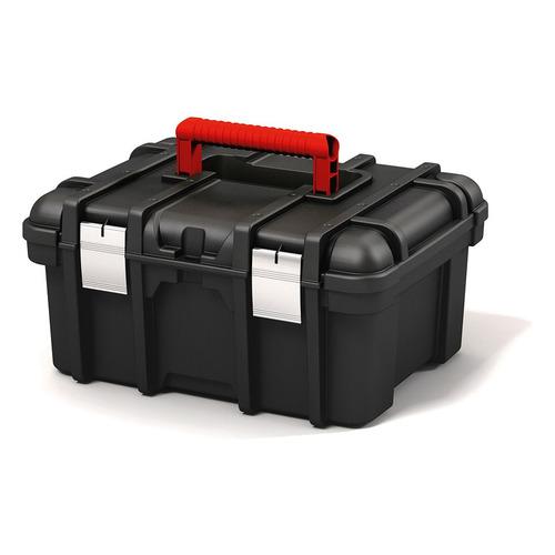 Ящик для инструментов KETER 16 Power Tool Box, черный [17191708] ящик для инструментов keter gear tool box 17200382