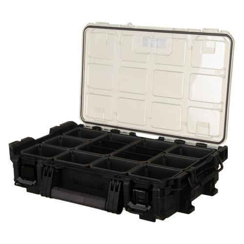 Ящик для инструментов KETER Gear Pro Organizer, черный [17206659] ящик для инструментов keter gear tool box 17200382