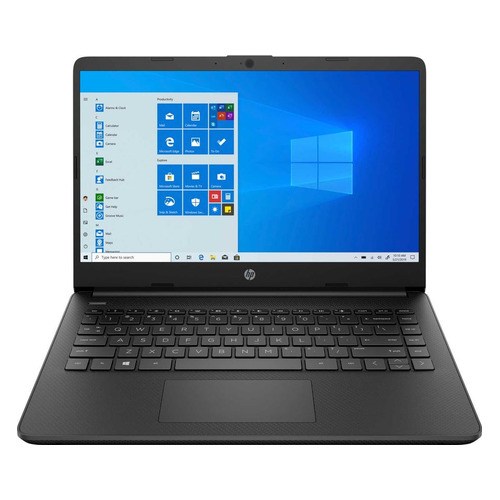 """Ноутбук HP 14s-dq0042ur, 14"""", IPS, Intel Pentium Silver N5030 1.1ГГц, 8ГБ, 256ГБ SSD, Intel UHD Graphics 605, Windows 10, 3B3L3EA, черный"""