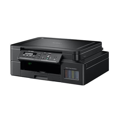 Фото - МФУ струйный BROTHER InkBenefit Plus DCP-T520W, A4, цветной, струйный, черный [dcpt520wr1] мфу brother dcp l3550cdw цветное а4 18ppm с дуплексом автоподатчиком lan wifi