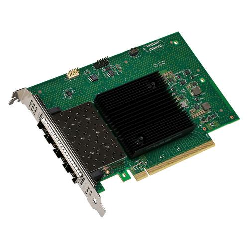 Сетевой адаптер Intel Original E810XXVDA4BLK 4x25Gb/s QSFP28 DAC (E810XXVDA4BLK 978335) сетевой адаптер intel x550t2blk 940136