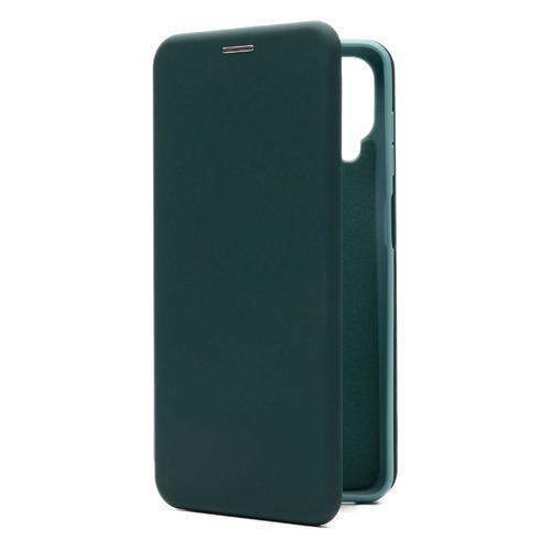 Фото - Чехол (флип-кейс) BORASCO Shell Case, для Samsung Galaxy A12, зеленый [39855] чехол флип кейс borasco shell case для samsung galaxy m21 зеленый [39139]
