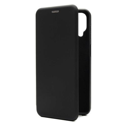 Фото - Чехол (флип-кейс) BORASCO Shell Case, для Samsung Galaxy A12, черный [39857] чехол флип кейс borasco shell case для samsung galaxy m21 зеленый [39139]