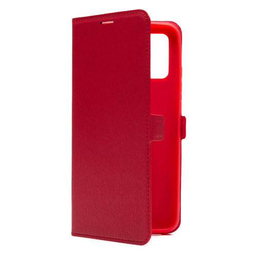 Фото - Чехол (флип-кейс) BORASCO Book case, для Samsung Galaxy A02s, красный [39835] чехол флип кейс borasco shell case для samsung galaxy m21 зеленый [39139]