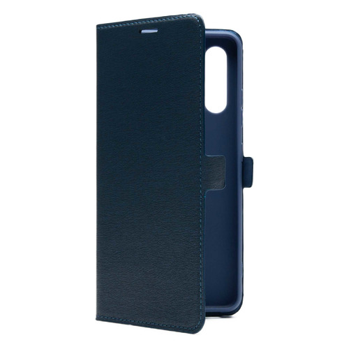 Фото - Чехол (флип-кейс) BORASCO Book case, для Samsung Galaxy A32, синий [39880] чехол флип кейс borasco shell case для samsung galaxy m21 зеленый [39139]
