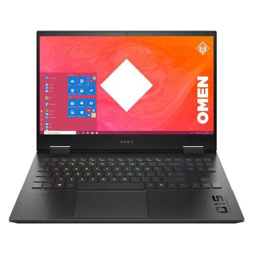 """Ноутбук HP Omen 15-ek1012ur, 15.6"""", IPS, Intel Core i7 10870H 2.2ГГц, 16ГБ, 1ТБ SSD, NVIDIA GeForce RTX 3070 для ноутбуков - 8192 Мб, Windows 10, 3B3E9EA, черный"""