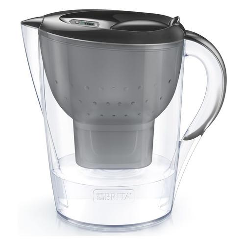 Фильтр для воды BRITA Marella MX+ Memo XL, черный, 3.5л