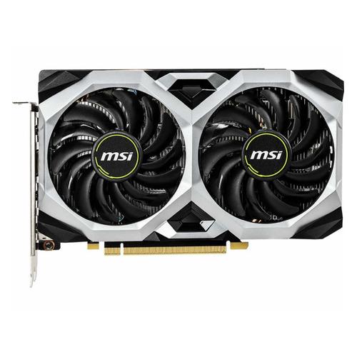 Фото - Видеокарта MSI NVIDIA GeForce GTX 1660 , GTX 1660 VENTUS XS OC RU, 6ГБ, GDDR5, OC, Ret видеокарта palit nvidia geforce gtx 1660super pa gtx1660super gp oc 6g 6гб gddr6 oc ret [ne6166ss18j9 1160a]
