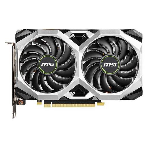 Фото - Видеокарта MSI NVIDIA GeForce GTX 1660SUPER , GTX 1660 SUPER VENTUS XS OC RU, 6ГБ, GDDR6, OC, Ret видеокарта palit nvidia geforce gtx 1660super pa gtx1660super gp oc 6g 6гб gddr6 oc ret [ne6166ss18j9 1160a]