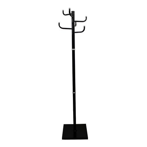 Вешалка напольная Бюрократ Мажор 1, черный, 178.5см [мажор 1/black]