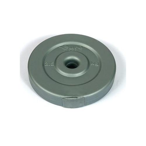 Диск Euro classic ES-0027 для гантели без покр. 2.5кг серый/серый (28260502)