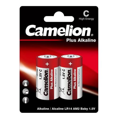 C Батарейка CAMELION Plus Alkaline LR14-BP2, 2 шт. 8000мAч недорого