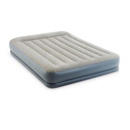 Кровать надувная INTEX 64118, с насосом, 2030х1520 мм, высота 300мм