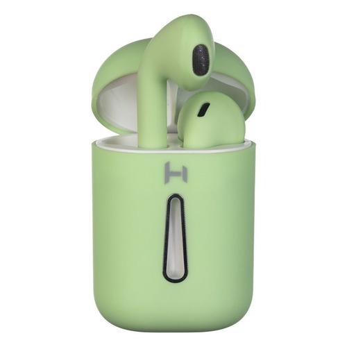 bluetooth гарнитура harper hb 408 Гарнитура HARPER HB-513, Bluetooth, вкладыши, зеленый