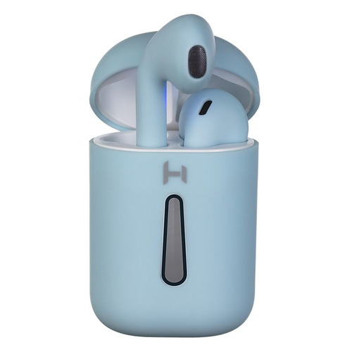 bluetooth гарнитура harper hb 408 Гарнитура HARPER HB-513, Bluetooth, вкладыши, голубой