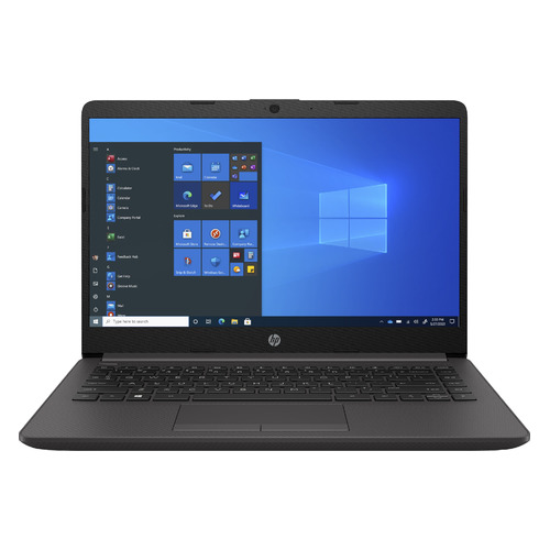 """Ноутбук HP 245 G8, 14"""", AMD Athlon Silver 3050U 2.3ГГц, 4ГБ, 256ГБ SSD, AMD Radeon , Windows 10 Professional, 2W8T6EA, серебристый"""