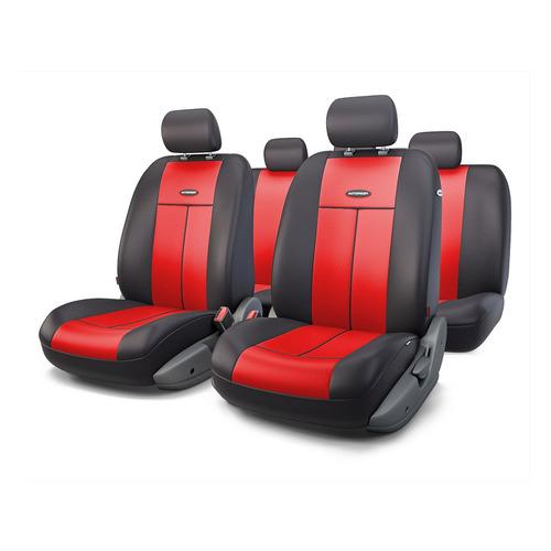 Чехол Autoprofi TT-902P BK/RD полиэстер черный/красный