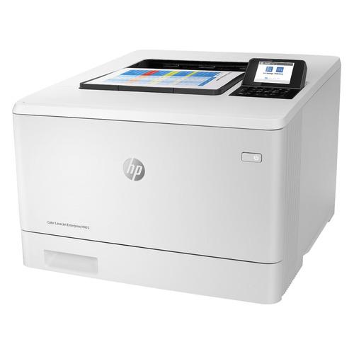 Фото - Принтер лазерный HP Color LaserJet Pro M455dn лазерный, цвет: белый [3pz95a] мфу лазерный hp color laserjet pro m479fnw a4 цветной лазерный белый [w1a78a]