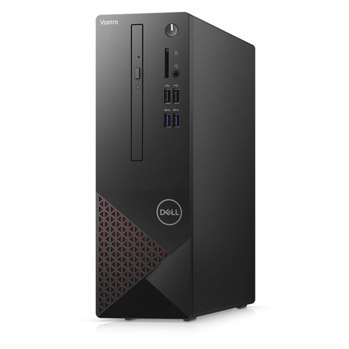 Компьютер DELL Vostro 3681, Intel Core i3 10100, DDR4 4ГБ, 256ГБ(SSD), Intel UHD Graphics 630, DVD-RW, CR, Windows 10, черный [3681-3342]