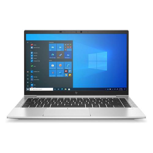 "Ноутбук HP EliteBook 840 G8, 14"", Intel Core i7 1165G7 2.8ГГц, 16ГБ, 512ГБ SSD, Intel Iris Xe graphics , Windows 10 Professional, 3C8B9EA, серебристый"
