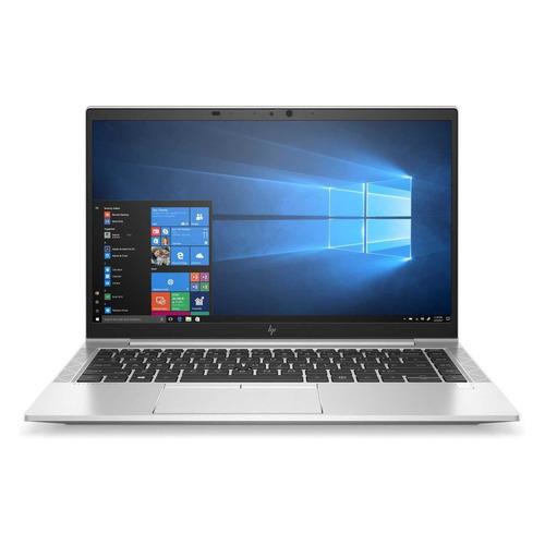 "Ноутбук HP EliteBook 845 G7, 14"", AMD Ryzen 5 Pro 4650U 2.1ГГц, 16ГБ, 512ГБ SSD, AMD Radeon , Windows 10 Professional, 10U44EA, серебристый"