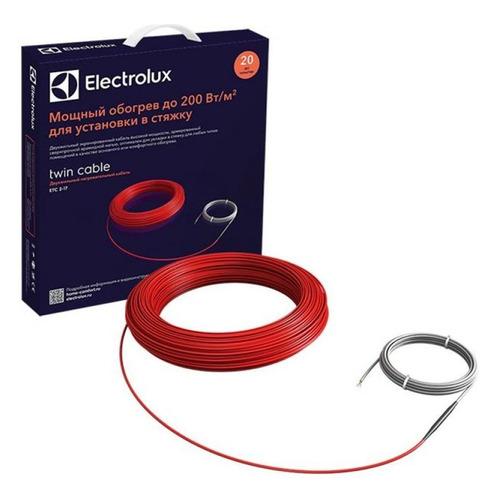 Кабель нагревательный Electrolux ETC 2-17-100 0.8м2 5.9м 100Вт красный (НС-1073700)