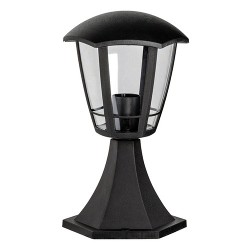 Фото - Светильник садовый Эра Валенсия-1 40Вт ламп.:1шт светодиод.лампа черный светильник садовый эра таблетка 0 03вт ламп 3шт светодиод лампа солнеч бат черный