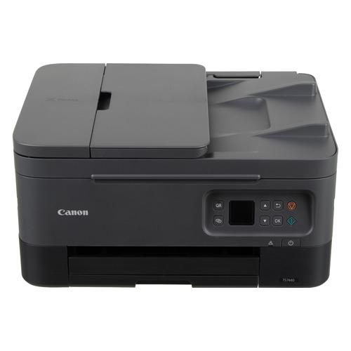Фото - МФУ струйный CANON Pixma TS7440, A4, цветной, струйный, черный [4460c007] мфу струйный canon pixma g3460 a4 цветной струйный черный [4468c009]