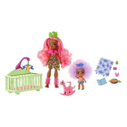 Игровой набор CAVE CLUB Няня с двумя куклами [gnl92]