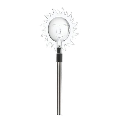 Фото - Светильник садовый Эра Солнце 0.06Вт ламп.:1шт светодиод.лампа солнеч.бат. черный светильник садовый эра таблетка 0 03вт ламп 3шт светодиод лампа солнеч бат черный
