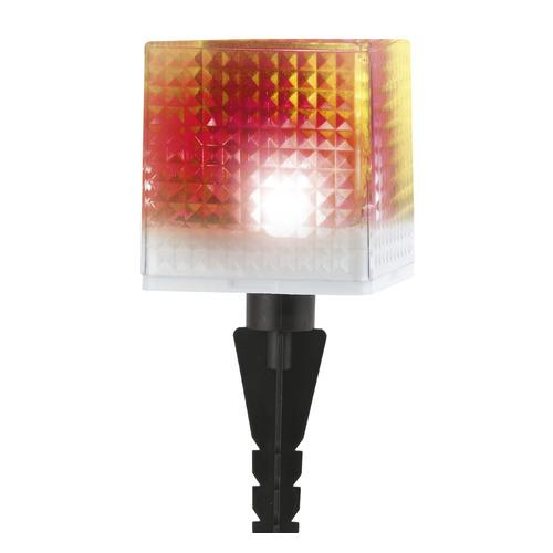 Фото - Светильник садовый Эра Куб 0.05Вт ламп.:1шт светодиод.лампа солнеч.бат. черный светильник садовый эра таблетка 0 03вт ламп 3шт светодиод лампа солнеч бат черный