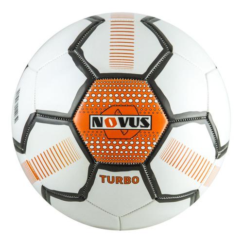 Мяч футб. Novus Turbo р.5 для газона 350гр белый/черный (00-00002286)