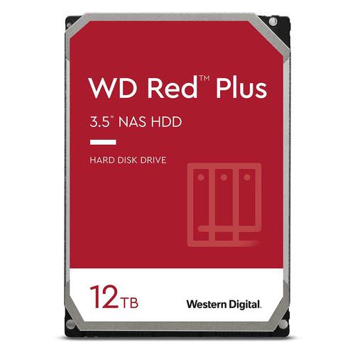 "Жесткий диск WD Red Plus WD120EFBX, 12ТБ, HDD, SATA III, 3.5"""