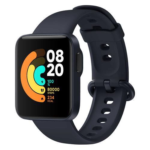 Смарт-часы Xiaomi Mi Watch Lite RU, 1.4, синий / синий [bhr4705ru] смарт часы xiaomi mi watch lite ru 1 4 синий синий [bhr4705ru]