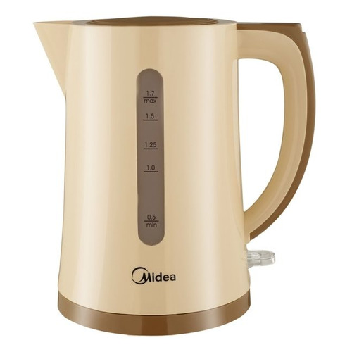 Чайник электрический MIDEA MK-8091, 2200Вт, бежевый