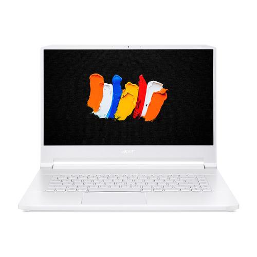 """Ноутбук ACER ConceptD 7 CN715-72G-758S, 15.6"""", Intel Core i7 10875H 2.3ГГц, 32ГБ, 1ТБ + 1ТБ SSD, NVIDIA GeForce RTX 2080 Super - 8192 Мб, Windows 10 Professional, NX.C61ER.002, белый"""
