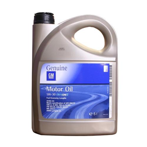Моторное масло GM Dexos2 Longlife 5W-30 5л. синтетическое [1942003]