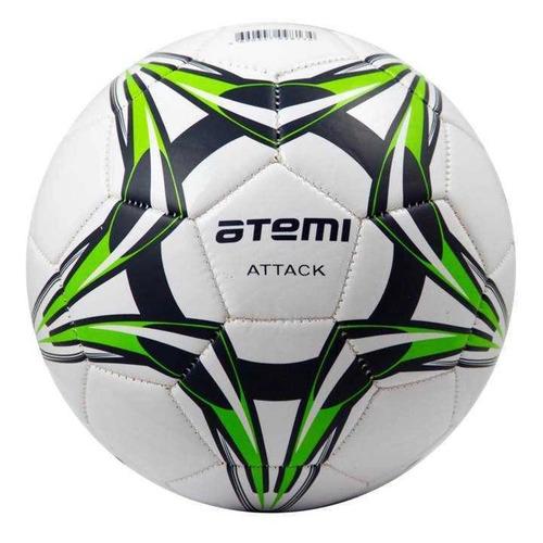 Мяч футб. Atemi Attack р.4 для газона белый (00000136425)