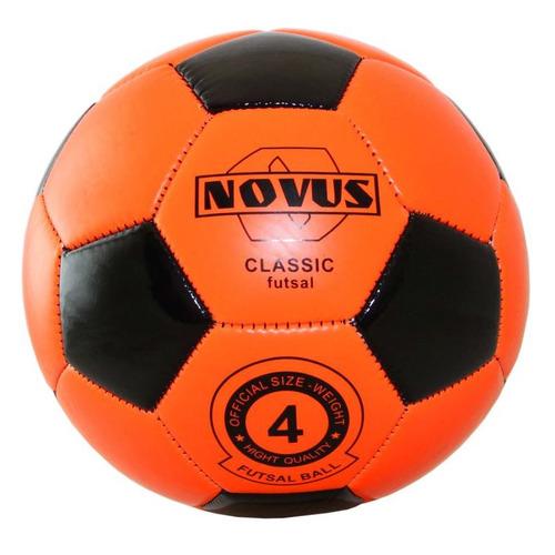 Мяч футб. Novus Classic Futsal р.4 для тв.покр. оранжевый (00-00004638)