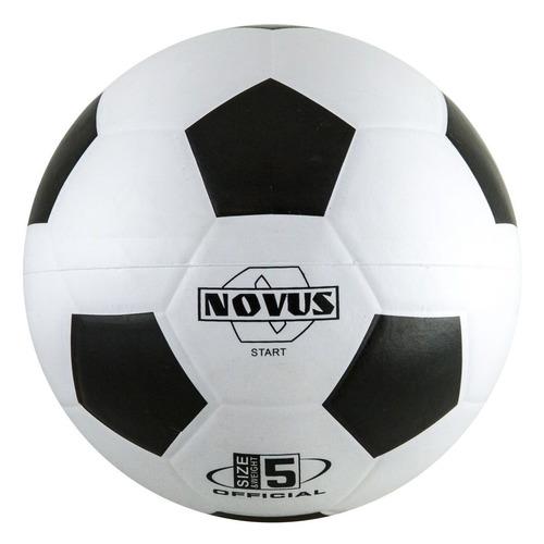 Мяч футб. Novus Start р.5 для тв.покр. белый/черный (00-00002259)
