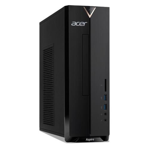 Компьютер Acer Aspire XC-830, Intel Pentium Silver J5040, DDR4 4ГБ, 256ГБ(SSD), Intel UHD Graphics 605, CR, Endless, черный [dt.bdser.00c]